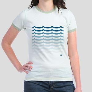 SET WAVES - Jr. Ringer T-Shirt