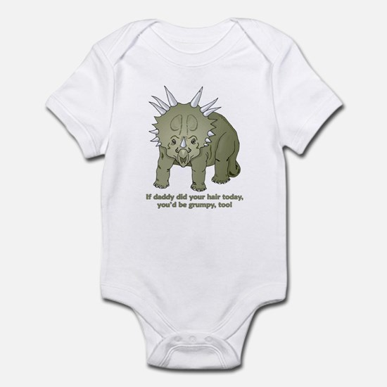 Daddy Did Hair Dinosaur Infant Bodysuit
