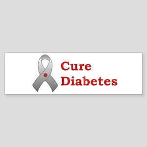 Cure Diabetes Bumper Sticker