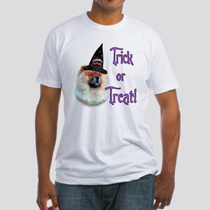 Chow Trick Fitted T-Shirt
