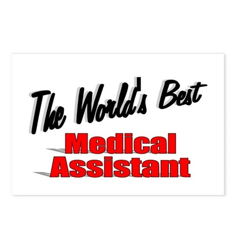 """""""The World's Best Medical Assistant"""" Postcards (Pa"""