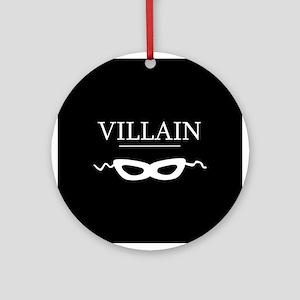 Villain Ornament (Round)