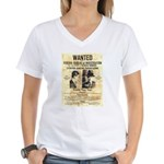 Benny Siegel Women's V-Neck T-Shirt
