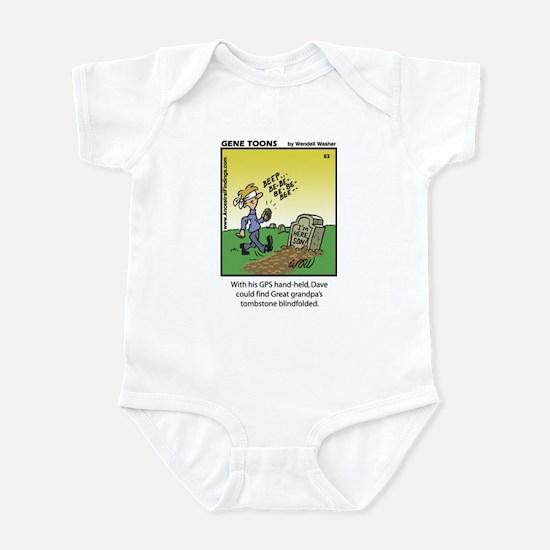 #63 GPS handheld Infant Bodysuit