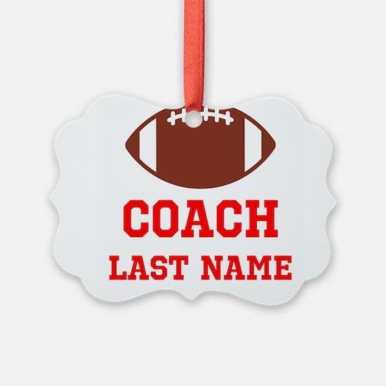 Football Coach Ornament