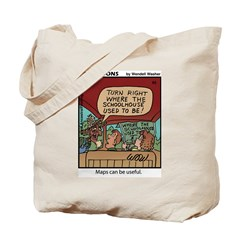 #65 Maps can be useful Tote Bag