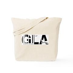 Glasgow Airport Code GLA Scotland Tote Bag