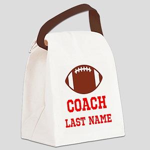Football Coach Canvas Lunch Bag