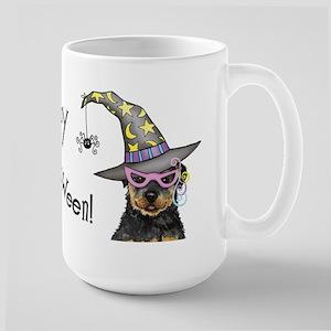 Halloween Rottweiler Large Mug