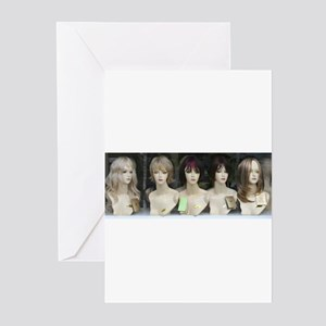 """Wig Girls"" Greeting Cards (Pk of 10)"