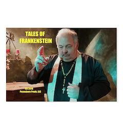 Tales Of Frankenstein Postcards (package Of 8)