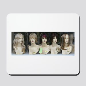 """Wig Girls"" Mousepad"