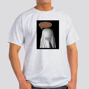 Say Cheese Burqa Photo Ash Grey T-Shirt