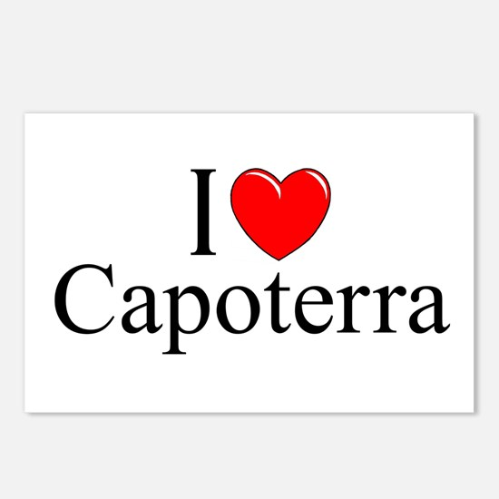 """I Love (Heart) Capoterra"" Postcards (Package of 8"