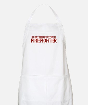 Feel Safe With A Firefighter BBQ Apron