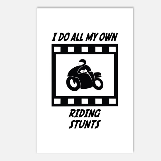 Riding Stunts Postcards (Package of 8)