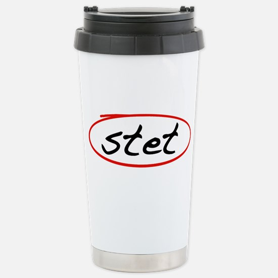 Stet Stainless Steel Travel Mug