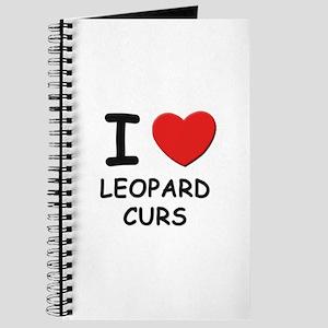 I love LEOPARD CURS Journal