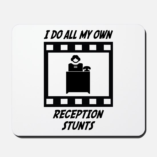 Reception Stunts Mousepad