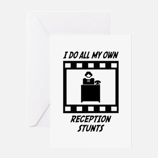 Reception Stunts Greeting Card