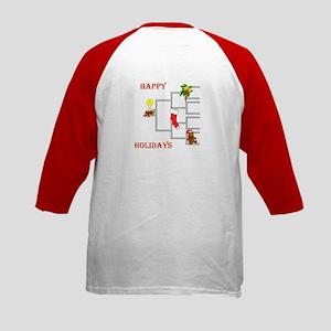 Genealogy Christmas<br> Kids Baseball Jersey