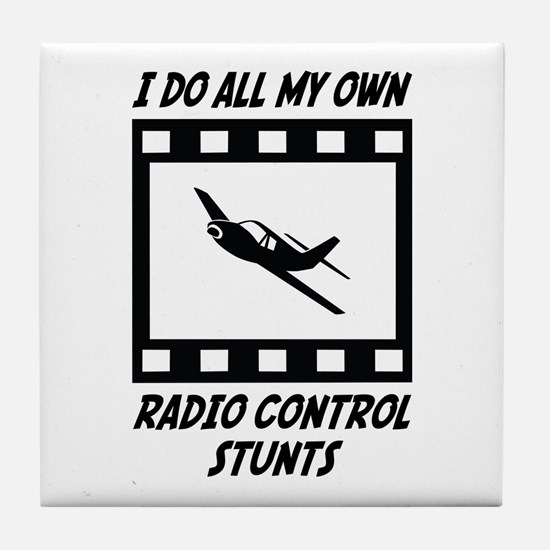Radio Control Stunts Tile Coaster