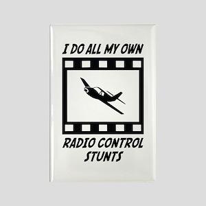 Radio Control Stunts Rectangle Magnet