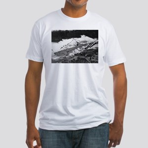USS ROBALO SUBMARINE Fitted T-Shirt