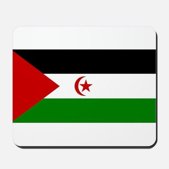 Flag of Western Sahara Mousepad