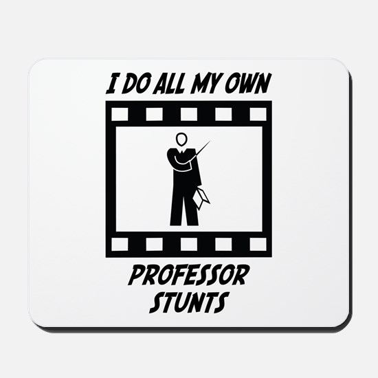 Professor Stunts Mousepad