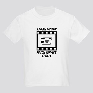 Postal Service Stunts Kids Light T-Shirt