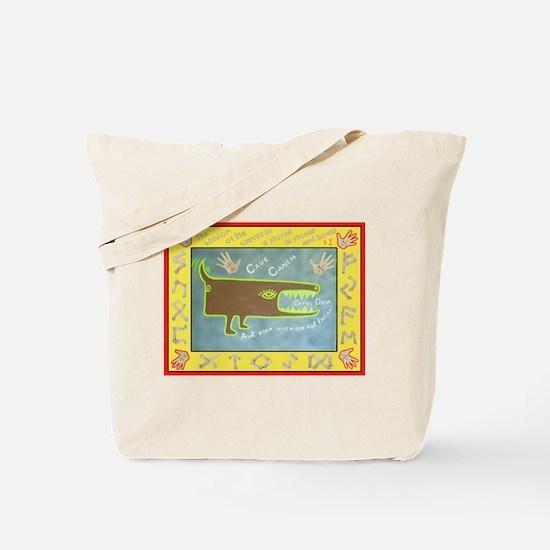 Cave Canem - Beware of the Dog Tote Bag