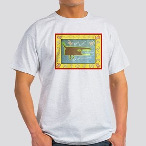 Cave Canem - Beware of the Dog Light T-Shirt
