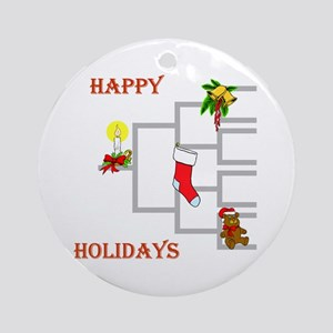 Genealogy Christmas<br>Ornament (Round)