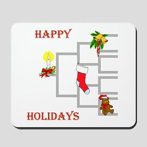 Genealogy Christmas<br> Mousepad