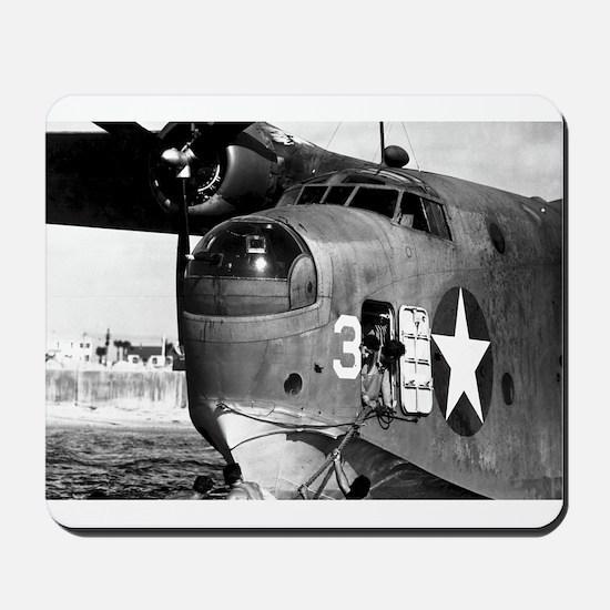 US NAVY FLYING BOAT Mousepad