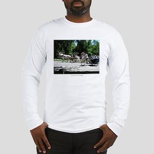 I LOVE NY Horse and Carriage Long Sleeve T-Shirt