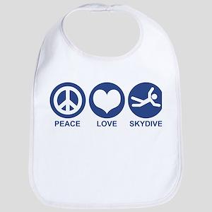 Peace Love Skydive Bib