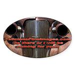 Promotion Oval Sticker