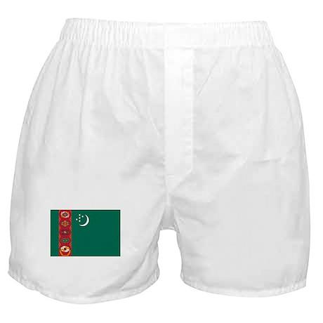 Flag of Turkmenistan Boxer Shorts