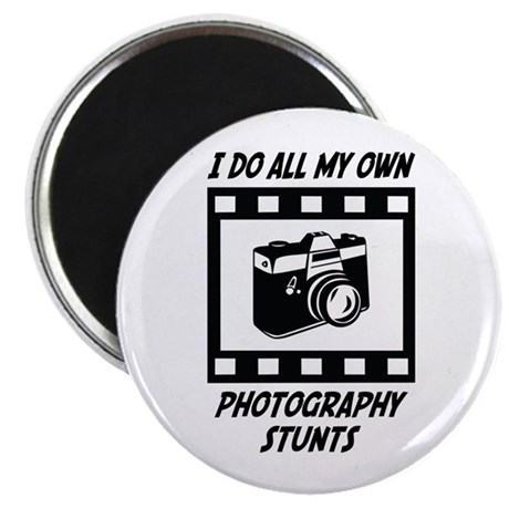 """Photography Stunts 2.25"""" Magnet (10 pack)"""
