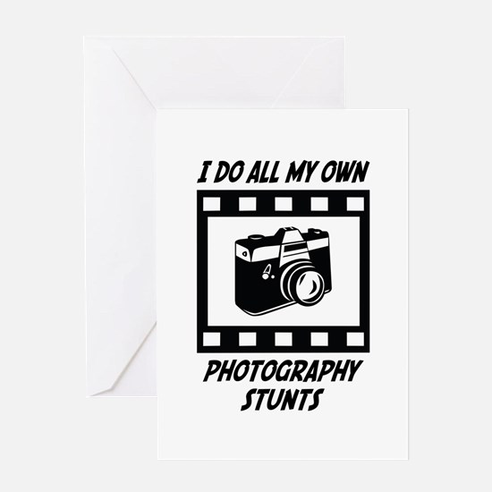 Photography Stunts Greeting Card