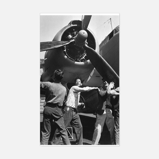 PV-1 VENTURA BOMBER Rectangle Decal