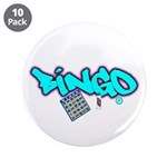 """Bingo tagester 3.5"""" Button (10 pack)"""