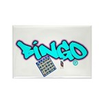 Bingo tagester Rectangle Magnet (10 pack)