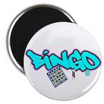 "Bingo tagester 2.25"" Magnet (10 pack)"