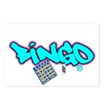 Bingo tagester Postcards (Package of 8)