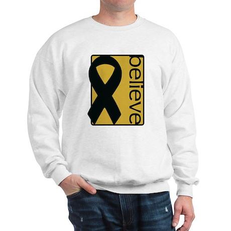 Gold (Believe) Ribbon Sweatshirt