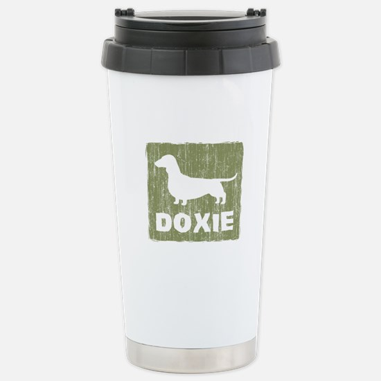 Doxie Stainless Steel Travel Mug