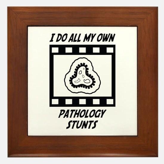 Pathology Stunts Framed Tile